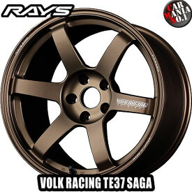 (4本セット)18×8.5J +42 5/114.3 RAYS(レイズ) ボルクレーシング TE37サーガ カラー:BR 18インチ 5穴 P.C.D114.3 ホイール新品4本 VOLK RACING TE37 SAGA