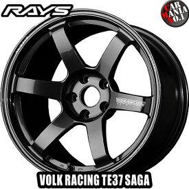 【4本セット】 RAYS(レイズ) ボルクレーシング TE37サーガ 17×7.5J +48 5/114.3 カラー:MM 17インチ 5穴 P.C.D114.3 FACE-1 ホイール新品4本 VOLK RACING 鍛造ホイール