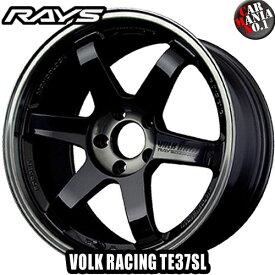 18×9.5J +22 5/114.3 RAYS(レイズ) ボルクレーシング TE37SL カラー:PW 18インチ ホイール新品1本 VOLK RACING