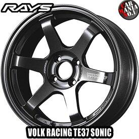 【4本セット】 RAYS(レイズ) ボルクレーシング TE37ソニック. 16×6.5J +45 4/100 カラー:MM 16インチ 4穴 P.C.D100 FACE-1 ホイール新品4本 VOLK RACING TE37 SONIC. 鍛造ホイール