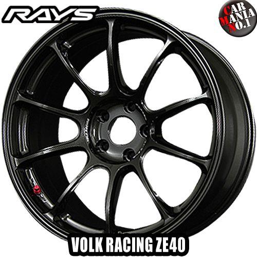 18×9.5J +43 5/100 RAYS(レイズ) ボルクレーシング ZE40. カラー:MM 18インチ 5穴 P.C.D100 ホイール新品1本 VOLK RACING 鍛造1ピース