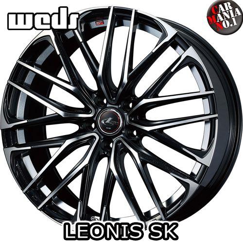 (4本セット) 17×6.5J +53 5/114.3 Weds(ウェッズ) レオニスSK カラー:PBMC 17インチ 5穴 P.C.D114.3 ホイール新品4本 LEONIS SK