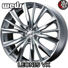 16×7.0J +53 5/114.3 Weds(ウェッズ) レオニスVX カラー:HSMC 16インチ 5穴 P.C.D114.3 ホイール新品1本 LEONIS VX
