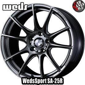 Weds(ウェッズ) ウェッズスポーツ SA-25R 17×7.0J +40 5/114.3 カラー:PSB 17インチ 5穴 P.C.D114.3 ホイール新品1本 WedsSport