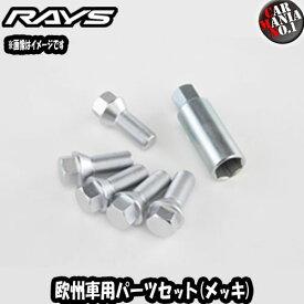 RAYS(レイズ) 欧州車用パーツセット No-4 メッキボルトタイプ EUパーツセット
