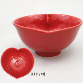 【茶器/茶道具 抹茶茶碗 バレンタイン茶碗 ハート茶碗】 猪目茶碗 小野穣作