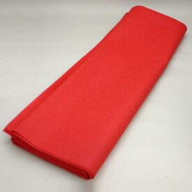 【茶器/茶道具 毛氈(もうせん)】 不織布 赤色 メルトン製 約縦0.9m×幅1.8m