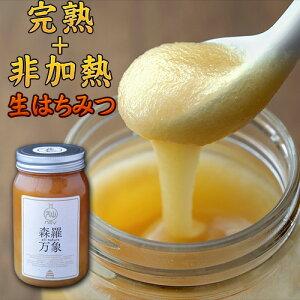 完熟・非加熱・奇跡の生はちみつ 森羅万象 600g [蜂蜜]