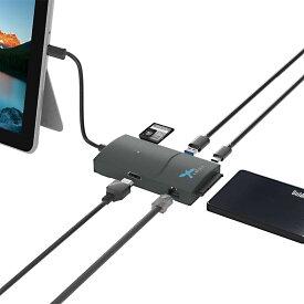 Surface アダプタ USB変換ドッキングサプライ SD HDMI&LAN