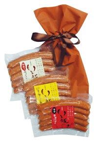 千葉県 ブランド いも豚 ソーセージ 3種 旭食肉協同組合 自社 ハム工房 製造 オリジナル 商品 お手軽 ギフト お試し 粗挽き チーズ チョリソー ウィンナー 各150g 巾着 送料無料