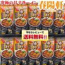 【同梱OK!送料無料】徳島ラーメン 春陽軒 【棒麺2食】入×10袋(ネギ入り)北海道、沖縄及び離島は別途発送料金が発生…