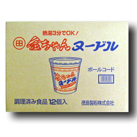 徳島製粉 金ちゃんヌードル 85g×12入 箱