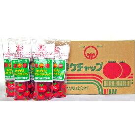 【送料無料!!】ヒカリ有機トマトケチャップ300gチューブ×20本箱※北海道、沖縄及び離島は別途発送料金が発生します