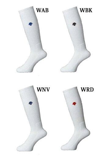 デサント靴下ハイソックスDVB8124DESCENTEバレーボールワンポイントロゴ