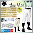 デサント 野球 ユニフォームパンツ ショート ジュニア 少年用 JDB1014P DESCENTE