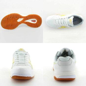 ムーンスター子供靴/メンズ/レディースジムスターS400W/イエロームーンスター高機能体育館シューズMSシューズ