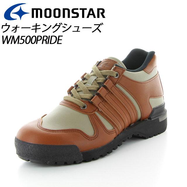 ムーンスター ワールドマーチ プライド メンズ ウォーキング WM500PRIDE オリーブ/ブラウン 48255006 MOONSTAR 30km、40Km、長距離のためのウォーキングシューズ MS シューズ