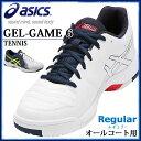 アシックス テニスシューズ メンズ オールコート ゲルゲーム 6 安定性 TLL789 asics