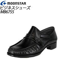 ムーンスター メンズ ビジネスシューズ MB6755 ブラック 41267551 MOONSTAR MS シューズ