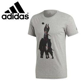 ☆ネコポス アディダス ラグビー トレーニング Tシャツ 半袖 丸首 メンズ サムライ T SAMURAI T adidas FJZ29