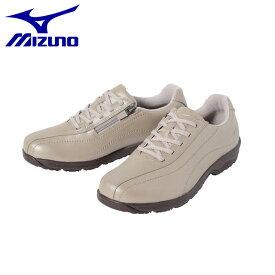 ミズノ レディース LD40IV ウォーキングシューズ 靴 ファスナー付 B1GD1817 MIZUNO