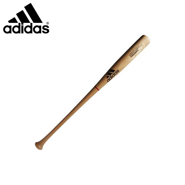 アディダス 野球 軟式 木製 バット 山田選手型 ハードメイプル仕様 FTJ28 adidas