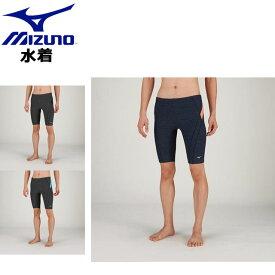 8ba330a9eb3de ミズノ 水泳 アクアフィットネス用ハーフスパッツL 立体カップ付 MIZUNO N2JB9102 フィットネス水着 スイム