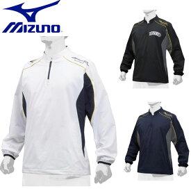 ミズノ 野球 ミズノプロ トレーニングジャケット MIZUNO 12JE9J02 トレーニングジャケット ウエア ストレッチ布帛素材 ジャケット ベースボール ユニセックス 一般用