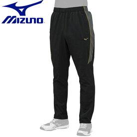 ネコポス ミズノ 野球 ミズノプロ ロングパンツ MIZUNO 12JF9J02 トレーニングパンツ ウエア ジャージ ベースボール ストレッチ布帛素材 ユニセックス 一般用