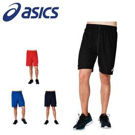 ネコポス アシックス メンズ バスケットボール ハーフパンツ ショーツ リバーシブル パンツ 吸汗速乾 UVケア 2063A062 asics
