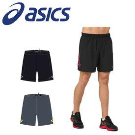 ☆ネコポス アシックス メンズ ランニング ショートパンツ ランニングアイコン ショーツ マラソン 2011A334 asics あす楽