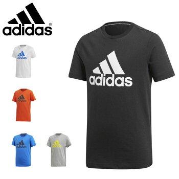 ☆ネコポスアディダスジュニアTシャツ半袖丸首トレーニングFTM57adidasあす楽