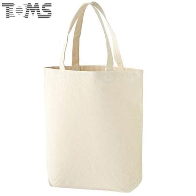 トムス バッグ ユニセックス メンズ レディース ジュニア キッズ 無地 トートバッグ キャンバストートバッグ BAG 用具 小物 肉厚 M アクセサリー シンプル 00777NB