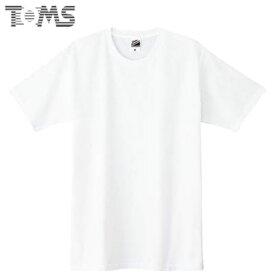ネコポス トムス Tシャツ ジュニア キッズ 無地 半袖Tシャツ ショートスリーブTシャツ S/S Tシャツ スタンダードタイプ 5.0OZ 100-160 ウェア トップス シンプル TOMS DM030WA