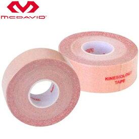 マクダビッド サポーター ユニセックス メンズ レディース キネマックス25 12ホンイリ 伸縮テープ アクリル系粘着剤 サポート カバー ガード プロテクター ボディーケア F MCDAVID KMB25