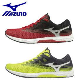 ミズノ メンズ ランニングシューズ スニーカー 靴 ウェーブ ソニック2 ワイド WAVE SONIC 2 WIDE 軽量 幅広 U1GD1936 MIZUNO