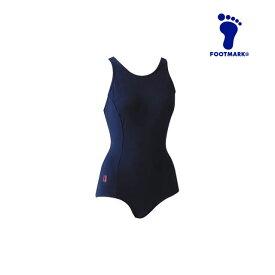 フットマーク ジュニア 水着 水泳 フィットネス スクール ミズギ 女子 ハイゲージ JR ワンピース 耐久性 FOOTMARK 101502J1