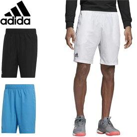 アディダス パンツ メンズ ハーフパンツ ショートパンツ ショーツ ゲームパンツ トレーニングハーフパンツ ジャージ ウエア ボトムス テニス スポーツアパレル TENNISCLUBSHORT9 adidas FRO48