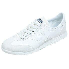 ムーンスター シューズ メンズ レディース ワーク ジャガーΣ04 ホワイト 12320111 MS ひも靴タイプ 軽量 通学履きから日常履きまで幅広く履ける 日本製