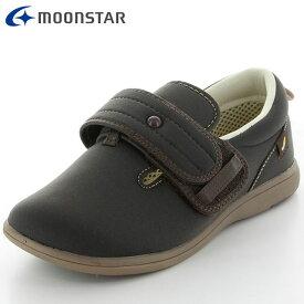 ムーンスター シューズ メンズ レディース 介護 パステル408 ブラウン 室内、室外でも履ける 介護 リハビリ つまずき防止設計 大きく広げられる履き口 軽量設計