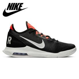 ナイキ メンズ テニスシューズ コート エア マックス ワイルドカード HC スニーカー 靴 安定性 NIKE AO7351006