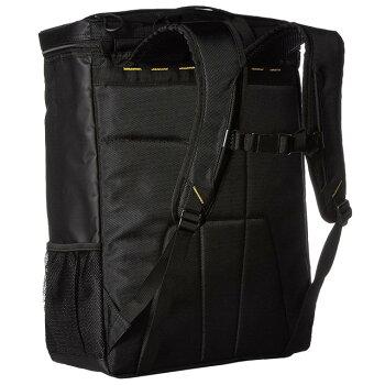 ☆スキンズバッグパックリュックSKINS数量限定あす楽即日出荷SRY7601ブラック部活通学通勤ボックス型スクエア型