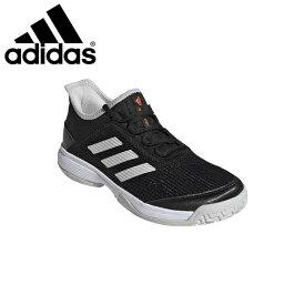 アディダス テニスシューズ ジュニア キッズ アディゼロ ADIZEROCLUBK オールコート スニーカー 靴 EF0601 adidas