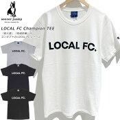 ☆ネコポスチャンピオンサッカージャンキーTシャツTEEコットン半袖SJ17070即日出荷あす楽対応可