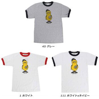 ☆ネコポスサッカージャンキーTシャツ半袖メンズコットンウエアシンプルジェントルマンナッツSNW100即日出荷あす楽対応可