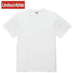 ネコポス ユナイテッドアスレ Tシャツ メンズ 半袖Tシャツ 6.0オンス オープンエンド バインダーネック Tシャツ ショートスリーブTシャツ S/S Tシャツ トップス ウエア 無地 シンプル カジュア