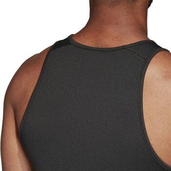 ☆ネコポスアディダスオールブラックスノースリーブタンクトップシャツクライマクール通気性トレーニング応援練習FLX80DN5981即日出荷