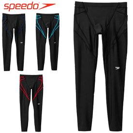 スピード パンツ メンズ レディース ユニセックス ロングパンツ BREAKS LEGGINGS 9分丈 長ズボン ジャージ ボトムス ウエア アパレル 水泳 スイム スイミング スポーツ トレーニング フィットネス 運動 試合 練習 S-O SPEEDO SF81962