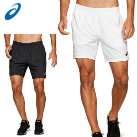 ネコポス アシックス ショートパンツ メンズ CLUB ショーツ 2041A072 asics 吸汗速乾性 腰周りにはっ水加工 テニスボールが収納しやすい大きめのポケット
