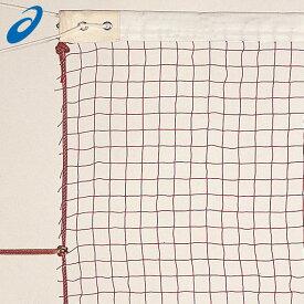 アシックス コート備品 703006 asics バドミントン専用ネット ネット 一般 棉 赤 レッド